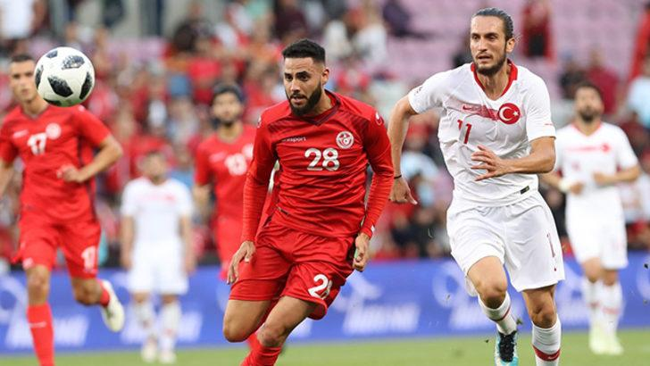 Türkiye 2 - 2 Tunus (MAÇ ÖZETİ)