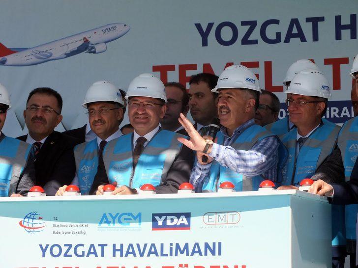 Bozdağ ve Arslan, Yozgat Havalimanı'nın temelini attı