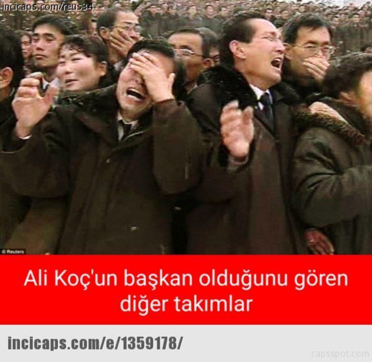 Ali Koç'un başkanlığı sonrası capsler patladı!