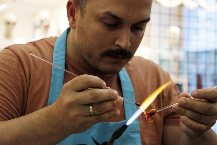 ABD'ye cam fil ihraç ediyor