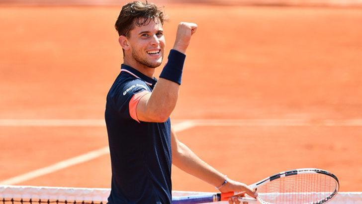 Dominic Thiem, Roland Garros'ta finale yükseldi