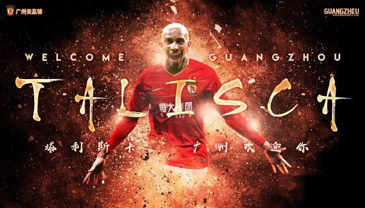 ANDERSON TALISCA | Benfica > Guangzhou Evergrande (KİRALIK)