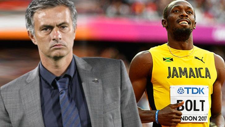 Usain Bolt'tan Jose Mourinho'ya eleştiri
