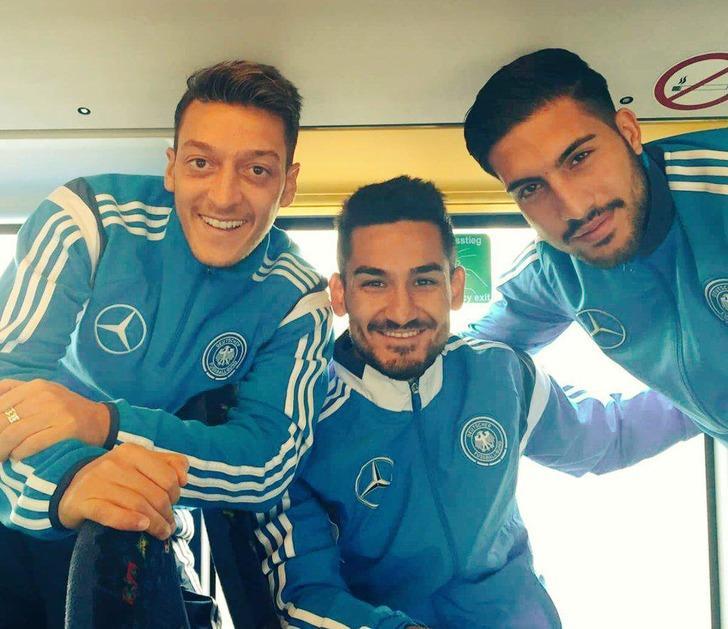Hummels ve Reus'tan İlkay ile Mesut'a destek