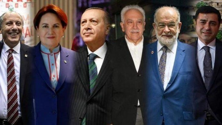 24 Haziran seçim sonuçlarıyla ilgili son anket! İşte liderlerin oy oranları