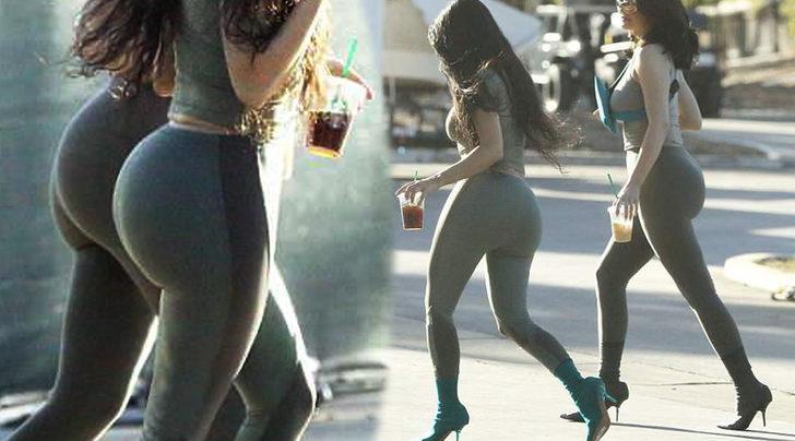 Klonlanmış gibi! Kardashian kardeşi Kylie ile aynı giyinirse...