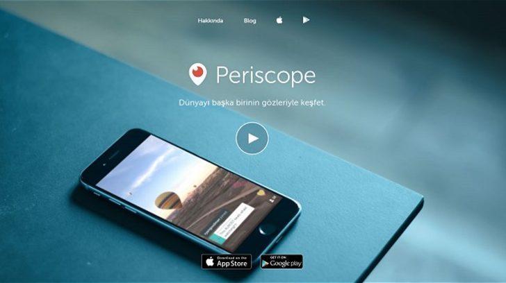 Periscope'a Türkiye'den erişim yasağı!