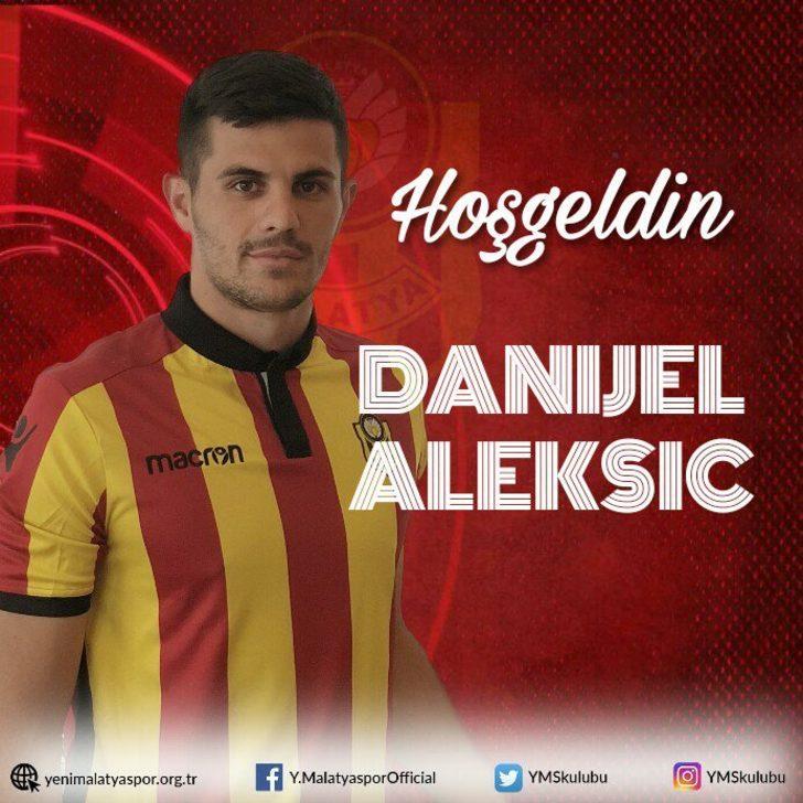 DANIJEL ALEKSIC | St. Gallen > Yeni Malatyaspor