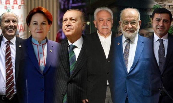 24 Haziran seçim sonuçlarına ilişkin son anket! İşte liderlerin masasındaki anket sonuçları