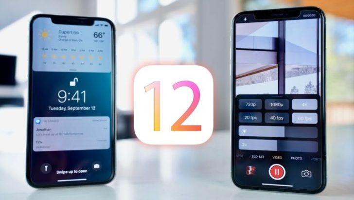 iOS 12'de buna da izin verilecek
