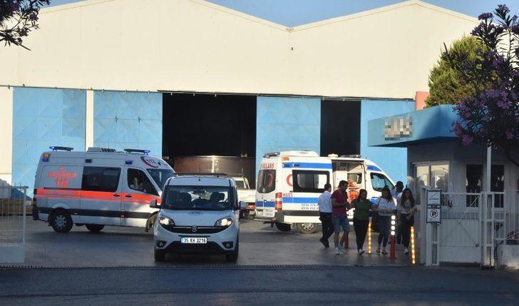 İzmir'de, demir-çelik kalıplarının altında kalan işçi öldü