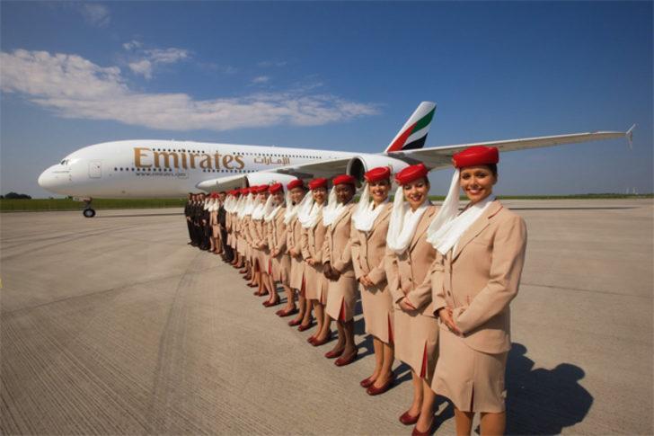 Emirates Havayolları, 74 bin lira maaşla Türkiye'de personel arıyor!