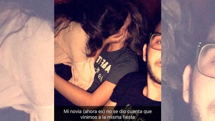 Sevgilisini başka bir erkekle öpüşürken gören gencin aldığı intikam sosyal medyayı salladı