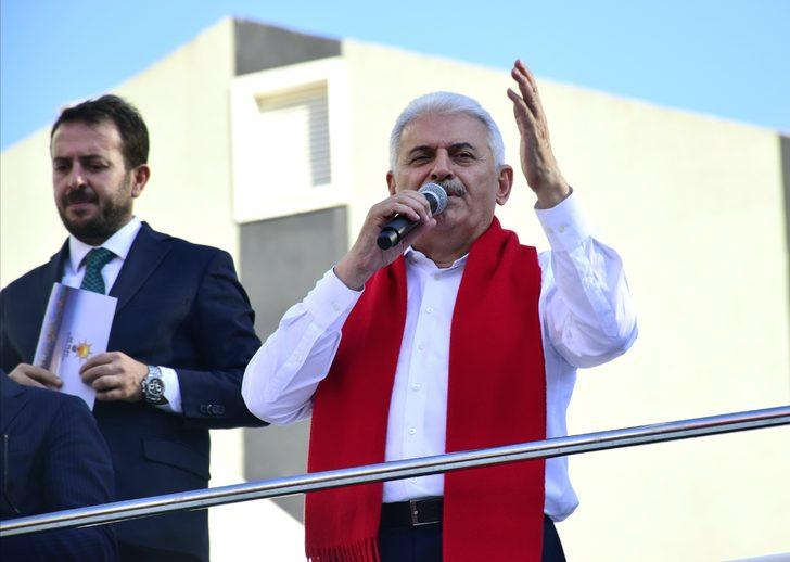 Başbakan Çekmeköy'de konuştu