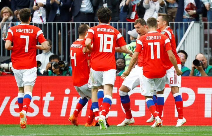 Rusya 5 - 0 Suudi Arabistan (Maç özeti)