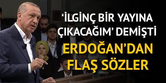 Erdoğan 'ilginç bir yayına çıkacağım' demişti! Canlı yayın başladı