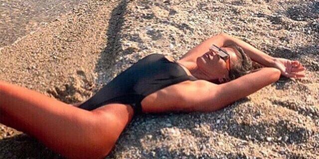 Eda Taşpınar'dan bikinili paylaşım 'Hayallerinin peşinden git'