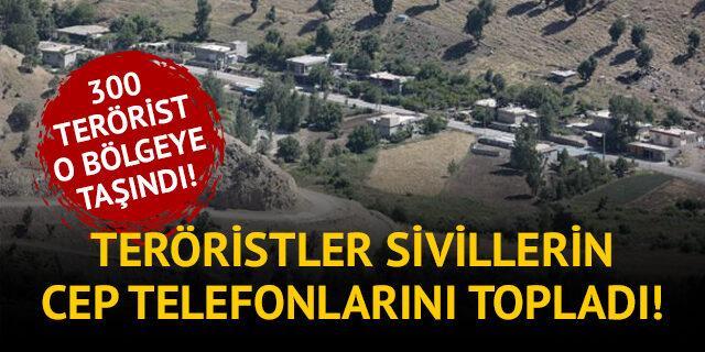 PKK, Kandil'de sivillerin cep telefonlarını topladı!