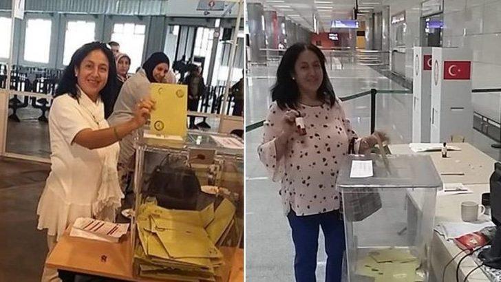 24 Haziran erken seçimi öncesi çift oy kullandığı iddia edilen Şengül Erdoğan'ın FETÖ bağlantısı araştırılıyor