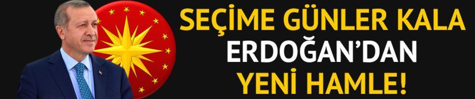 Erdoğan'dan yeni hamle! Telefonunu açan büyük sürpriz yaşadı!