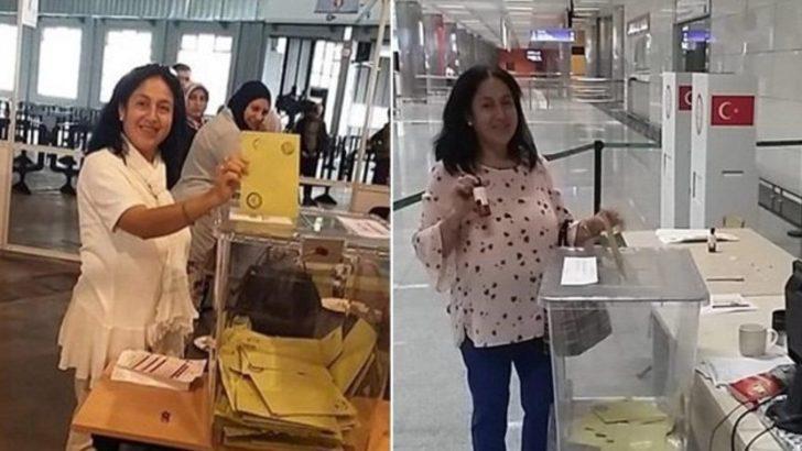 İki kez oy kullandığı iddia edilen kadın serbest bırakıldı!