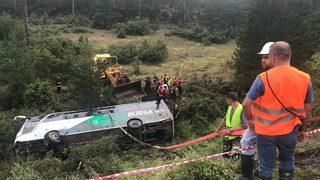 Bursa'da otobüs devrildi! Ölü ve yaralılar var
