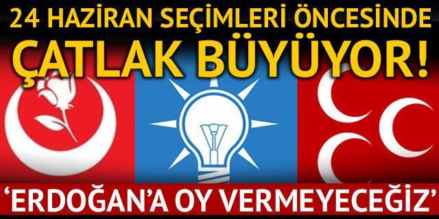 BBP'li Hakkı Öznur: Erdoğan'a oy vermeyeceğiz