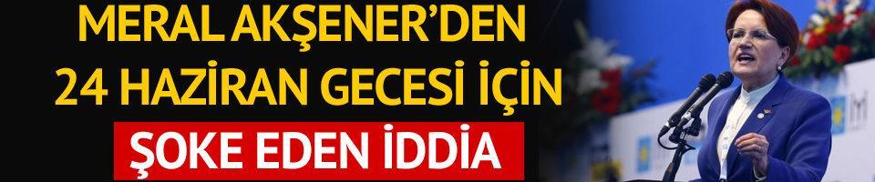 Meral Akşener'den Erdoğan'a: Damadınız AA'ya 'yüzde 52 göster' dedi mi?