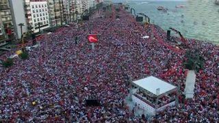 İnce'nin İzmir mitingine kaç kişi katıldı?