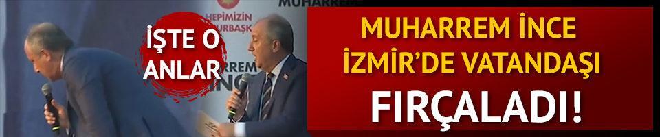 Muharrem İnce İzmir mitinginde vatandaşı fırçaladı