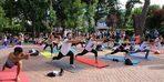 Uluslararası Yoga Günü Nişantaşı Sanat Parkı'nda kutlandı