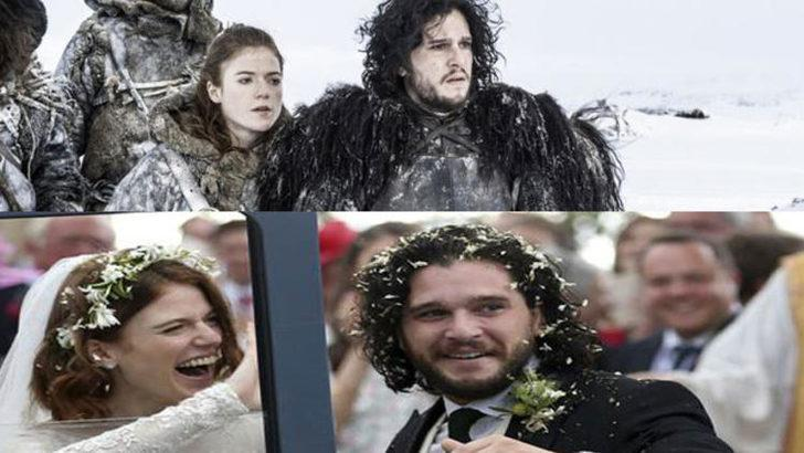 Game of Thronesun Jon Snowu ve Ygrittei dünya evine girdi 64