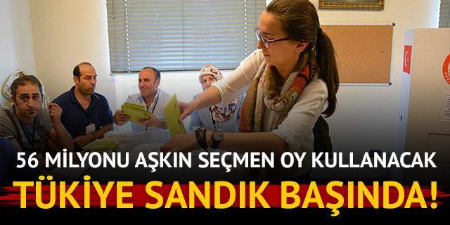 Türkiye'nin çifte seçimi! 56 milyonu aşkın seçmen oy kullanacak