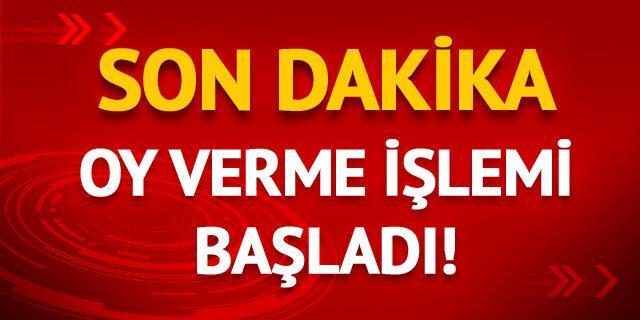 Türkiye sandık başına gidiyor!