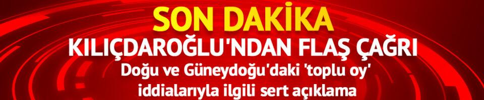 Oyunu kullanan Kılıçdaroğlu'ndan Doğu ve Güneydoğu'daki 'toplu oy' iddialarıyla ilgili açıklama