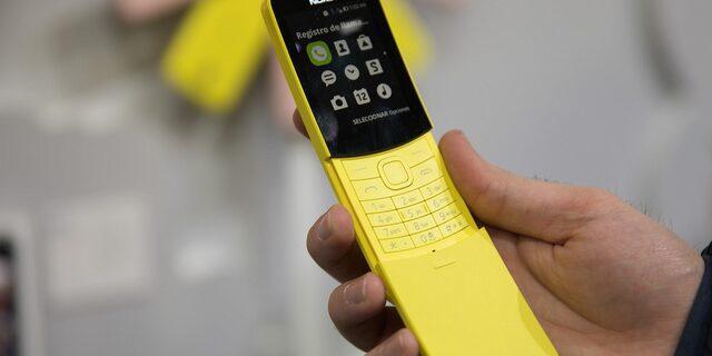 Nokia 8110 4G satışa sunuldu!