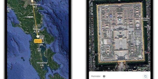 Google Earth evinizle Paris arasındaki mesafeyi ölçecek