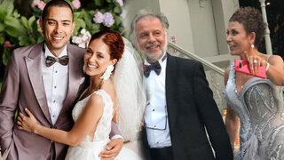 Ünlü sunucu kızını evlendirdi