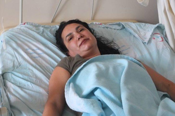 Balıkesir'in Bandırma ilçesinde karın ağrısı şikayetiyle hastaneye giden kadın büyük şok yaşadı