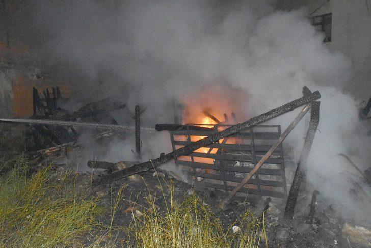 Kütahya'da 3 araç, 1 motosiklet yandı