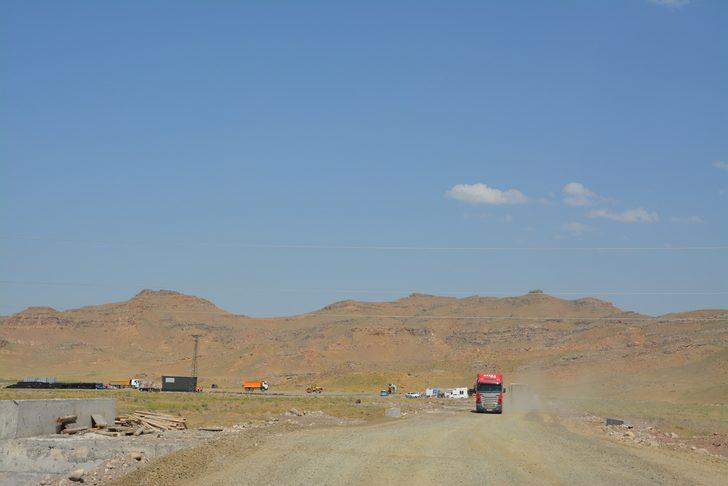 5 bin kişilik geri gönderme merkezinin inşaatı sürüyor