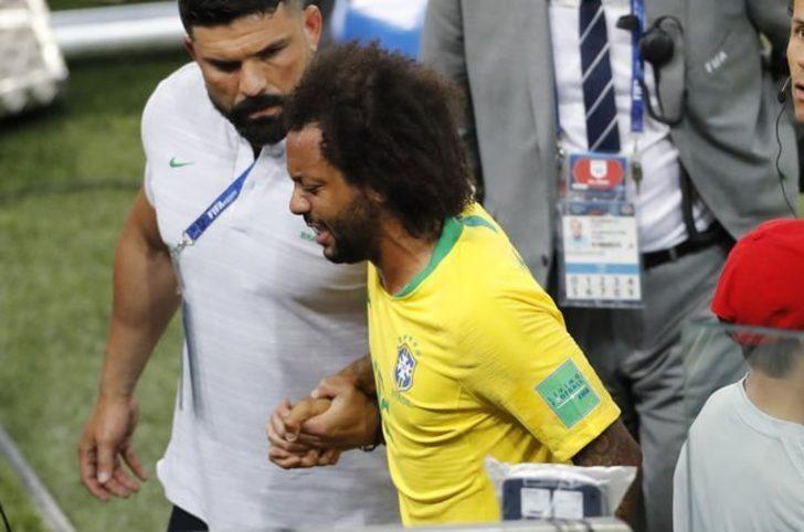 Marcelo, Meksika maçında yok