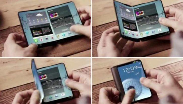 Samsung'un katlanabilir ekranlı telefonu 2019'da çıkacak
