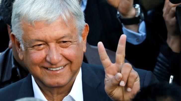 Meksika seçimlerinde zafer solcu aday Obrador'un