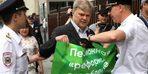 Rusya'da 30 kentte emeklilik yaşı protestosu