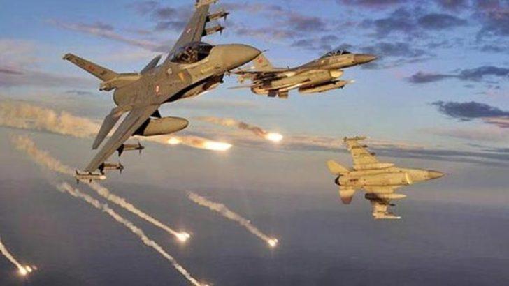 TSK'dan Kuzey Irak'a hava harekatı: 4 terörist öldürüldü