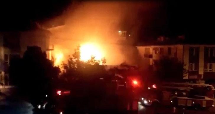 Ankara'da fırında yangın: 1 işçi ölü