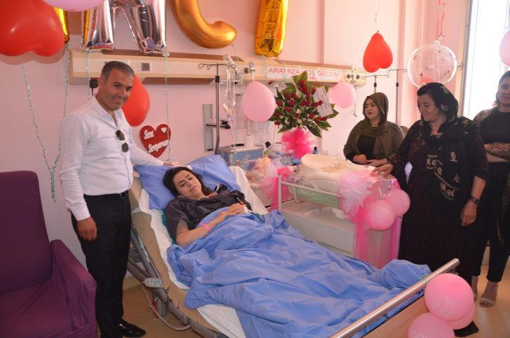 Yüksekova'da 16 yıl sonra bebek sevinci yaşadılar