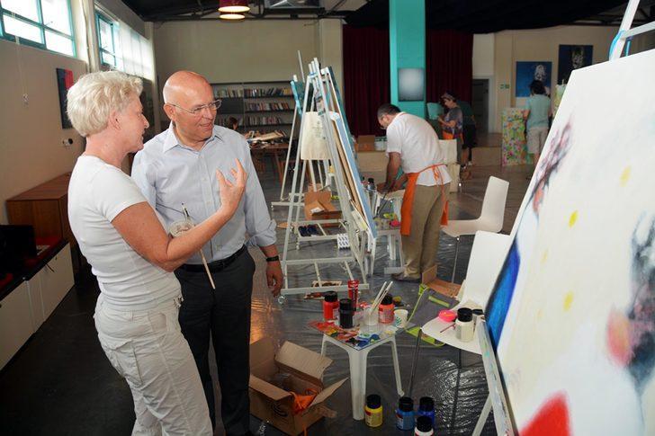 Tekirdağ'da, 'Bisanthe Uluslararası Plastik Sanatlar Çalıştayı'