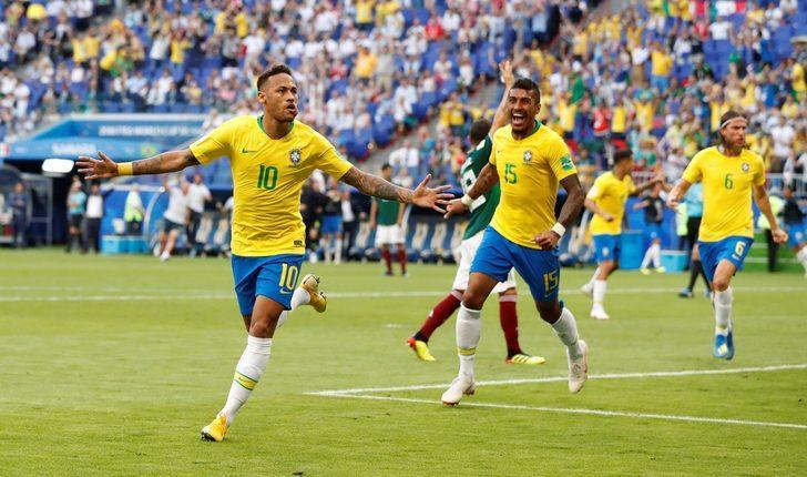 Brezilya'da sahne Neymar'ın